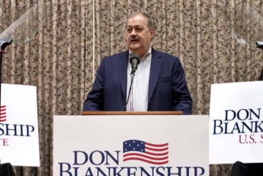 'Trumpier than Trump?' Blankenship takes over West Virginia primary