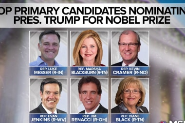 Want to win voters? Nominate Trump for Nobel Peace Prize