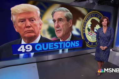 Mueller's questions for Trump are out, who leaked them?