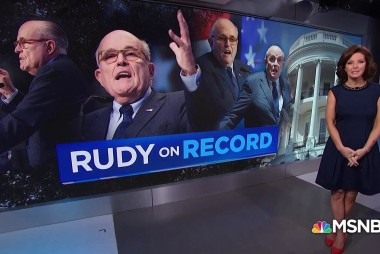 Trump's lawyer, Giuliani, on the record in weekend media blitz