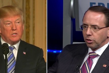 Fmr US Atty: Looks more like Rosenstein's caving 'with each step'