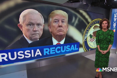 """Trump on Sessions: """"I wish I did"""" choose another Attorney General"""