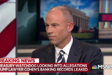 Michael Avenatti: Cohen bank records 'absolutely relevant' to Daniels' suit