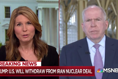 """Fmr CIA Director Brennan: Trump's decision on Iran Deal """"not just foolish, but dangerous"""""""