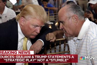 "Donald Trump & Rudy Giuliani's ""strategic play"""