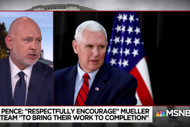 "Steve Schmidt on VP Pence: He is a ""titanic fraud"""