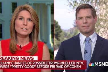 Rep. Swalwell: Trump 'acting like somebody who has something to hide'