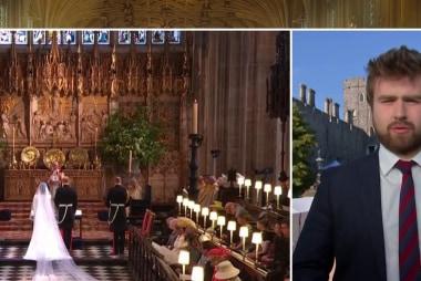 Royal wedding with an American twist
