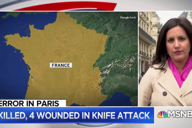 Developing: Deadly Knife Attack in Paris