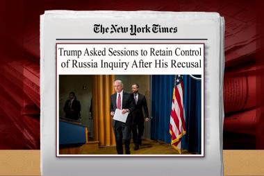 Mueller eyes the president's pressure on Sessions: NYT