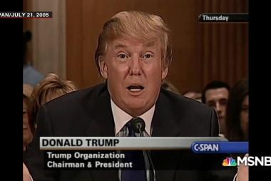 Trump's longtime love affair with...asbestos?