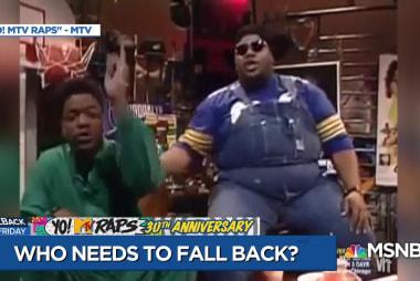 Yo! MTV Raps takes over Fallback Friday