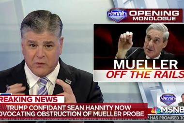 Vance: Sean Hannity's 'acid-wash' advice to Mueller witnesses 'reprehensible'