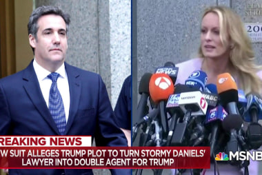 Stormy Daniels: Michael Cohen plotted with my lawyer to lie about Trump
