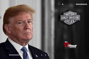 Trump picks a fight with Harley Davidson motorcycles