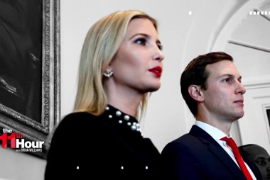 Ivanka & Kushner's earnings under scrutiny due to their WH roles