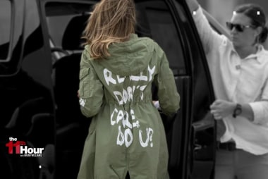 David Jolly: 'Unforgivable' for Melania Trump to wear that jacket