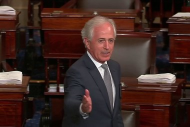After Primary night, Bob Corker calls GOP 'cultish' for loyalty to Trump
