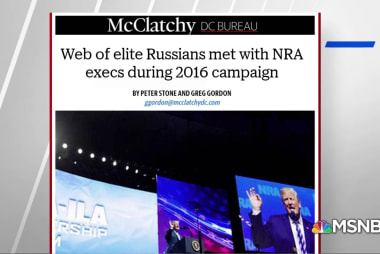 McClatchy: Russians in contact with NRA during 2016 election