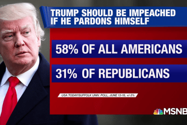 58% say Trump should be impeached if he pardons himself