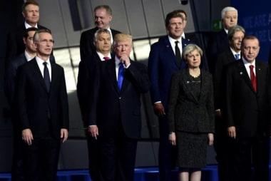 AXIOS: Trump says NATO is as bad as NAFTA