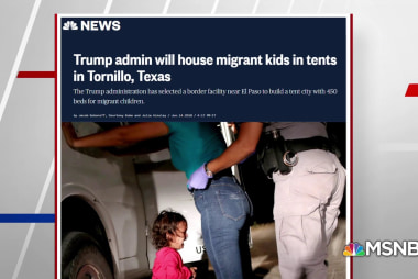 Trump Administration will house migrant kids in 'tent city'