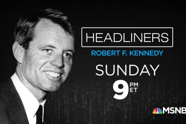This Sunday, Chris hosts 'Headliners: Robert Kennedy'