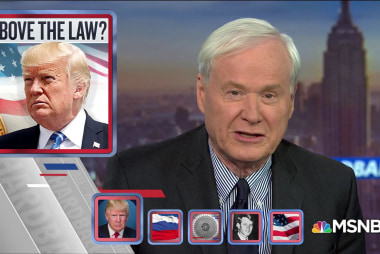 Chris Matthews: I've never heard a President say he's King before