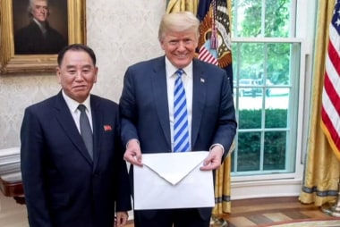 White House: 'No surprises' in letter from Kim Jong-un