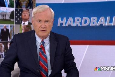 Matthews: Trump can't get over his new pardon power