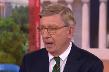 George Will says to vote against the GOP this November