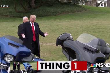 Trump unfriends Harley-Davidson