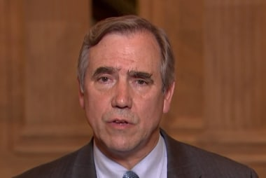 Sen. Merkley on conditions in migrant shelters