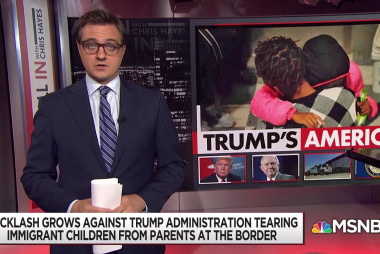 Hayes: Family separation is 'barbaric,' 'national shame'