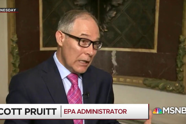 'Mattress-Lotion Scott' somehow still has a job at EPA