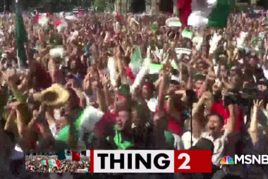 Mexican fans celebrate so hard they cause artificial quake