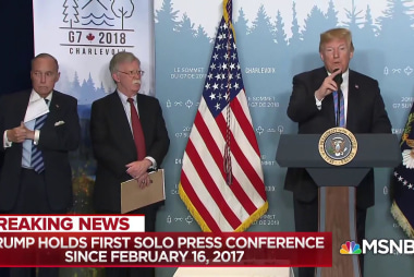 John Harwood: Trump did not look well to me at press conference