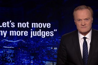 Lawrence: One senator could block Trump's Supreme Court pick
