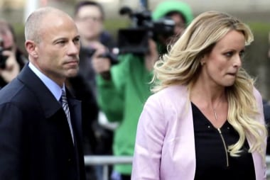 Rpt: Trump fuming about Cohen's handling of Stormy Daniels