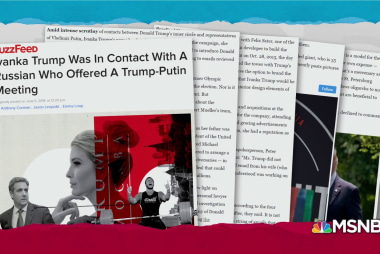 Ivanka eyed by investigators for referring Russian to Cohen