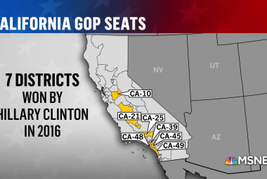 California crucial to Democratic hopes of retaking House in 2018