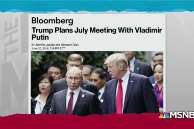 Trump July Europe trip to include Putin meeting: Bloomberg