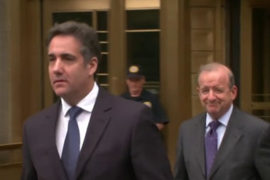Trump attorney Michael Cohen splitting with legal team