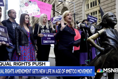 Alyssa Milano, Congresswoman Maloney talk Equal Rights Amendment