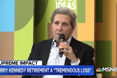 John Kerry weighs in on immigration, midterms