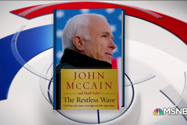 McCain takes on Trump, McConnell in new book