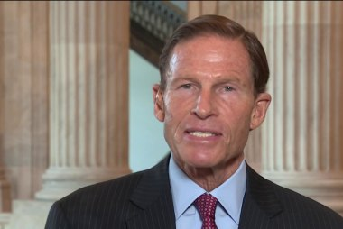 We just need one Republican colleague, says Blumenthal