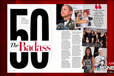 'We need these women now': Profiling 'Badass' women