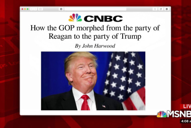 How GOP went from party of Reagan to party of Trump