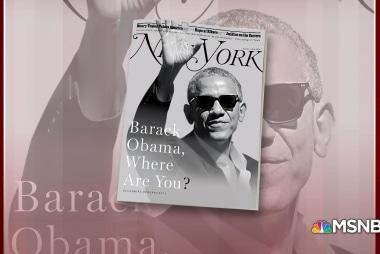 "New York Magazine: ""Barack Obama, where are you?"""